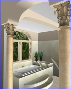 bath 3D Rendering Loading
